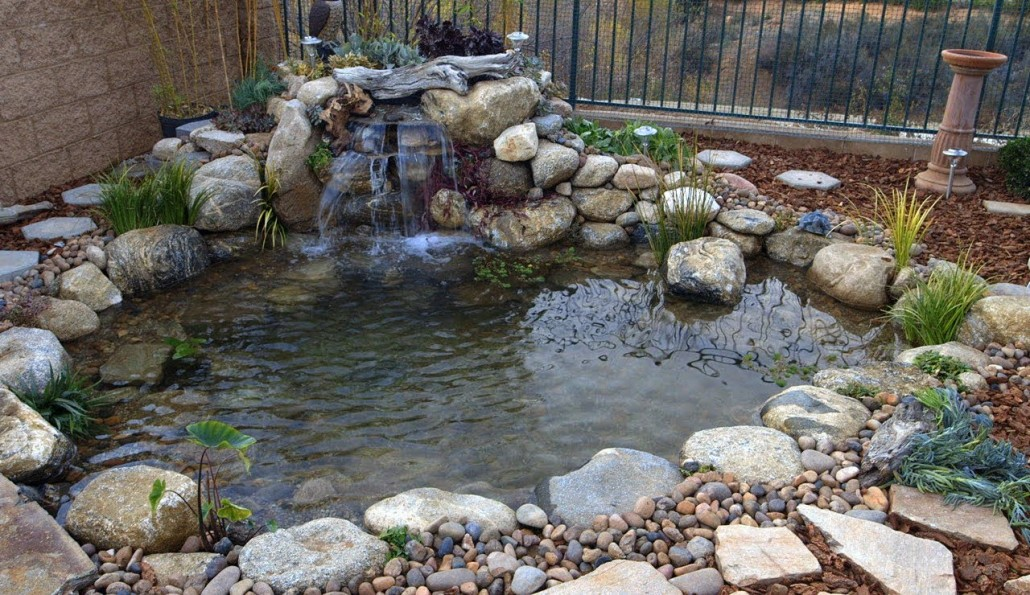 - Simple Steps For Creating Beautiful Backyard Ponds