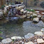 Backyard Pond excavating
